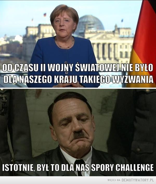 Ach te niemieckie wyzwania... –