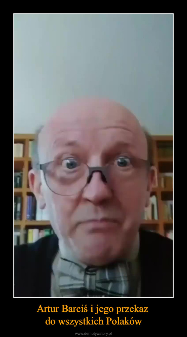 Artur Barciś i jego przekaz do wszystkich Polaków –