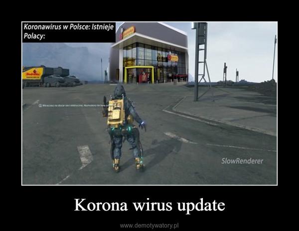 Korona wirus update –