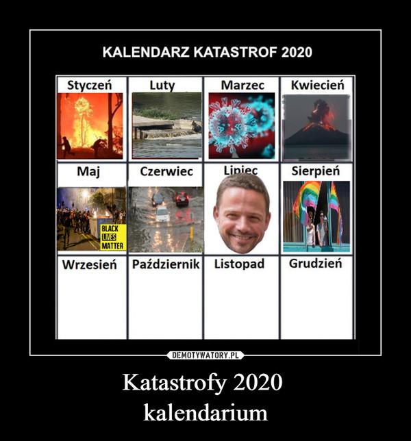 Katastrofy 2020 kalendarium –