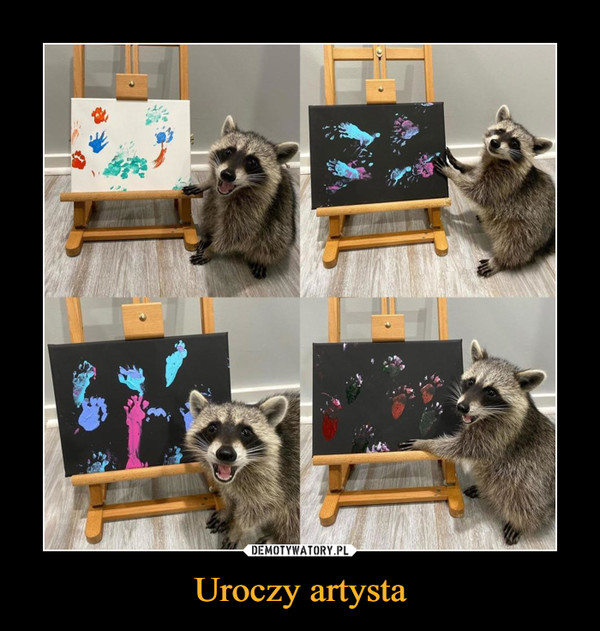 Uroczy artysta –