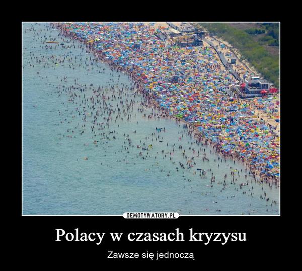 Polacy w czasach kryzysu – Zawsze się jednoczą