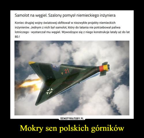 Mokry sen polskich górników