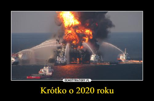 Krótko o 2020 roku