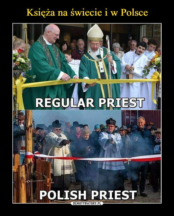 –  REGULAR PRIESTPOLISH PRIEST