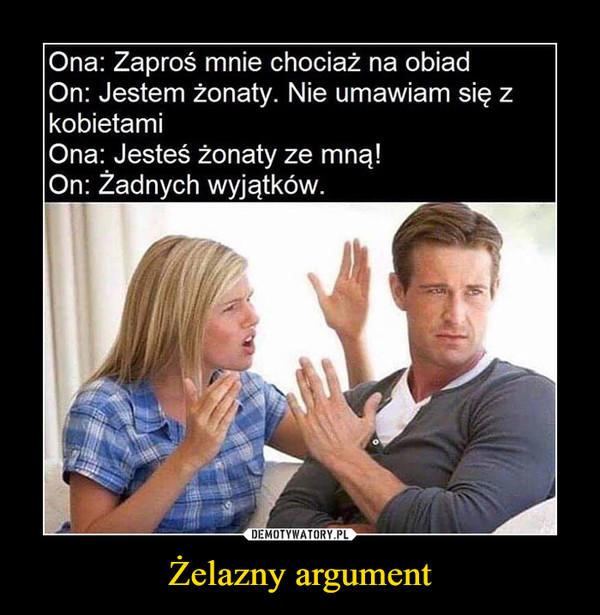 Żelazny argument –