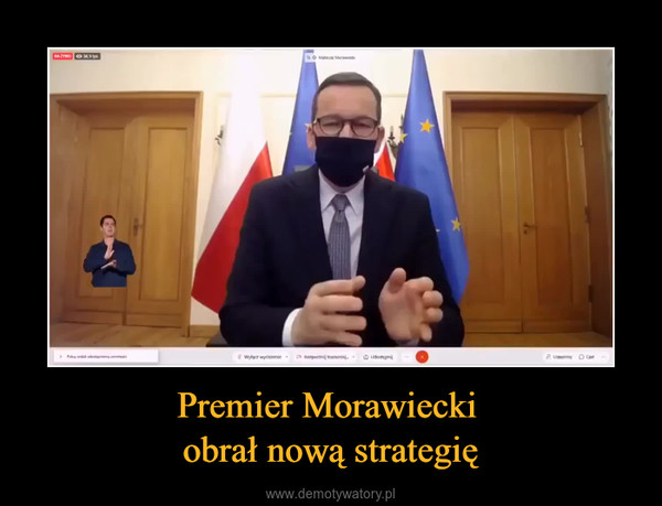 Premier Morawiecki obrał nową strategię –