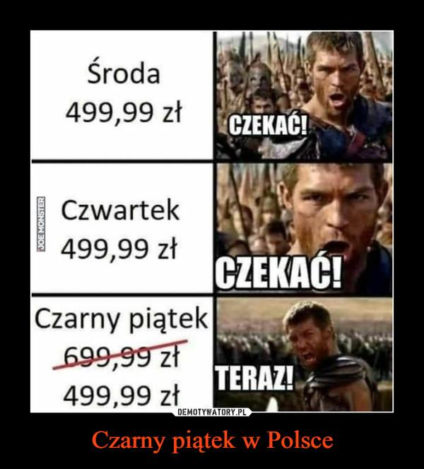 Czarny piątek w Polsce –