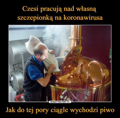 Czesi pracują nad własną  szczepionką na koronawirusa Jak do tej pory ciągle wychodzi piwo