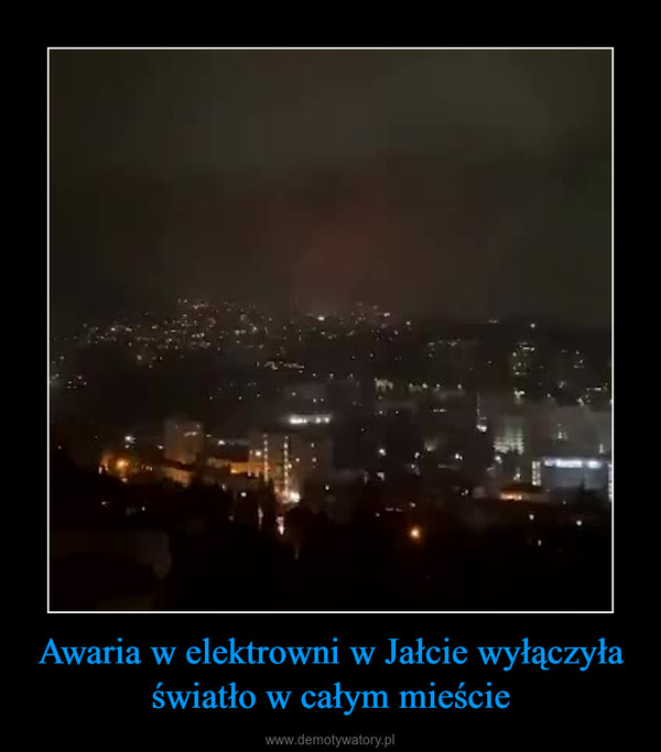 Awaria w elektrowni w Jałcie wyłączyła światło w całym mieście –