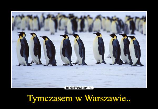 Tymczasem w Warszawie.. –