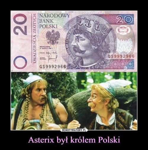 Asterix był królem Polski