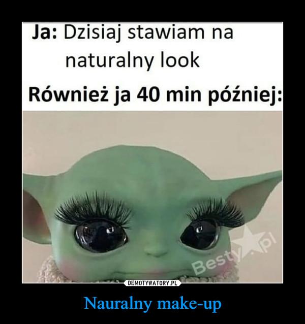 Nauralny make-up –