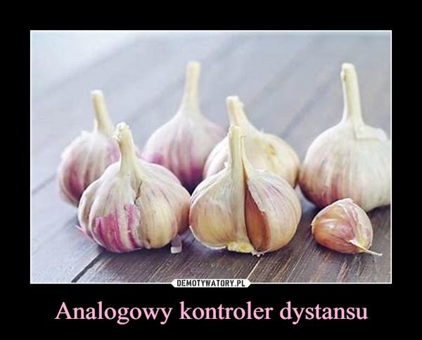 Analogowy kontroler dystansu –