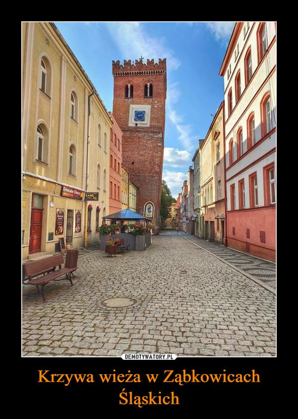 Krzywa wieża w Ząbkowicach Śląskich –