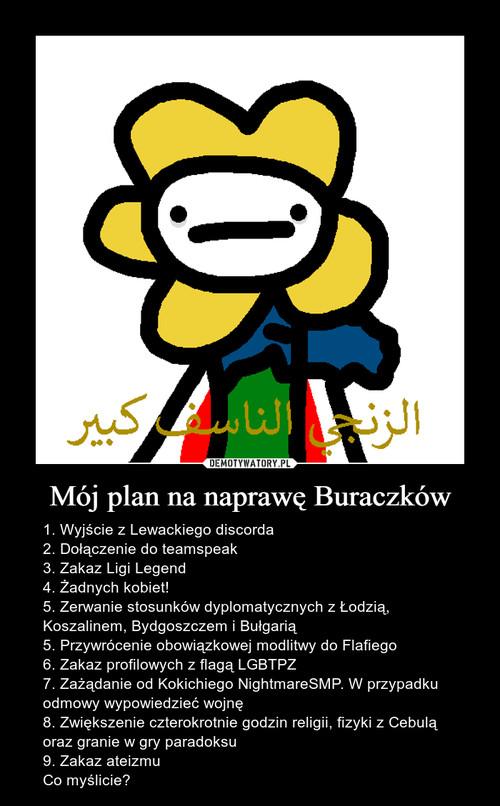 Mój plan na naprawę Buraczków