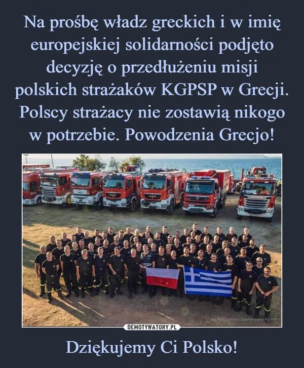 Dziękujemy Ci Polsko! –