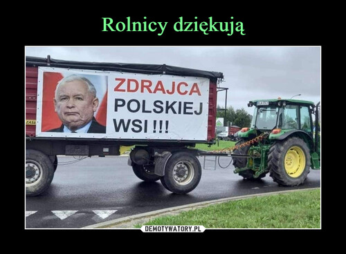 Rolnicy dziękują
