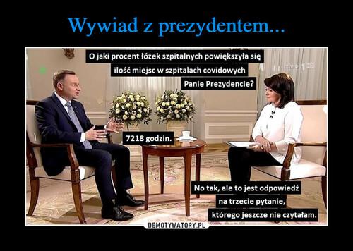 Wywiad z prezydentem...